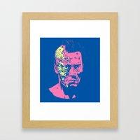 Terminator (neon) Framed Art Print