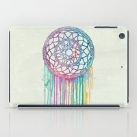 Watercolor Dream Catcher iPad Case