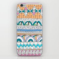 Tribal Lines #4 iPhone & iPod Skin