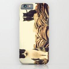 gatos en el tejado Slim Case iPhone 6s