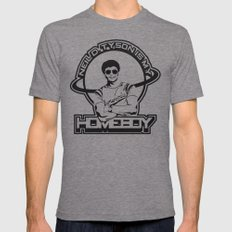 Neil Degrasse Tyson Is M… Mens Fitted Tee Tri-Grey SMALL