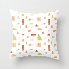 Searching for a House Throw Pillow