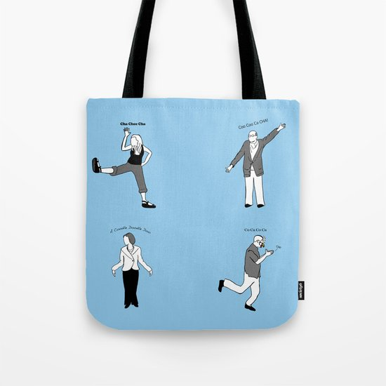 Chicken Dance The Night Alway  Tote Bag