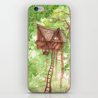 Treehouse Retreat iPhone & iPod Skin