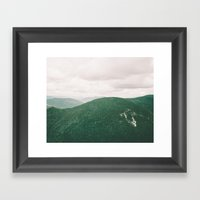 I'll See Mountains Again Framed Art Print