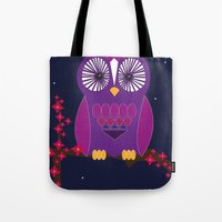 Night Time  Tote Bag
