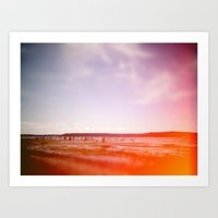 Day At The Beach Art Print