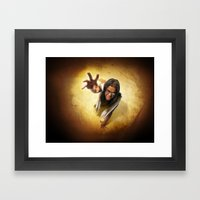 Parched Framed Art Print