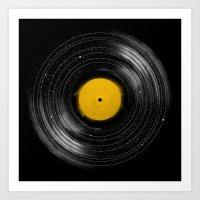 Sound System Art Print