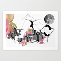 Magical Attack Art Print