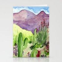 Sonoran Springtime Stationery Cards
