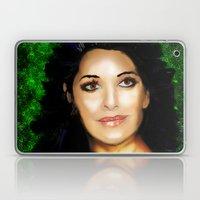 Portrait of Deanna Troi Laptop & iPad Skin