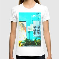 #KEY WEST POETRY by Jay Hops Womens Fitted Tee White SMALL