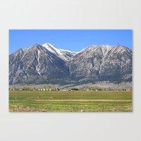 Minden, Nevada Canvas Print