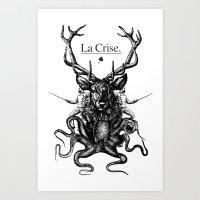 Deer Octopussy... Art Print
