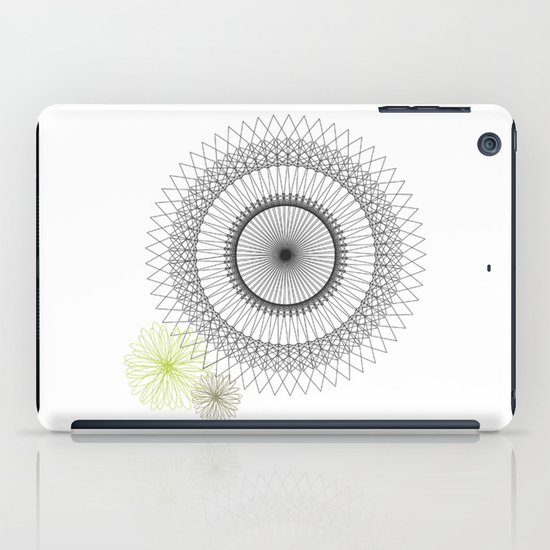 Modern Spiro Art #2 iPad Case