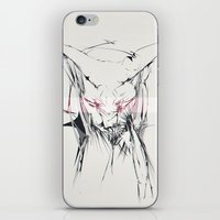 sphynx iPhone & iPod Skin