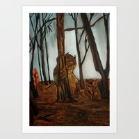 The Wild Unknown  Art Print