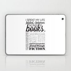 Folded Between the Pages of Books Laptop & iPad Skin