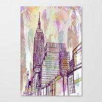 August Rain  Canvas Print