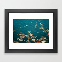 Autumn Sea Framed Art Print