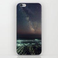 Galactic Beach iPhone & iPod Skin