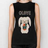 Hipster #LOVE Biker Tank