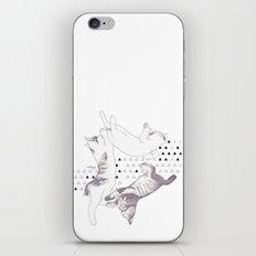 cat triangle  iPhone & iPod Skin
