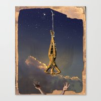 Tarot Series: The Stars Canvas Print