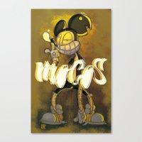 LOCO MOCOS Canvas Print