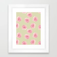 Perennial Pattern Framed Art Print