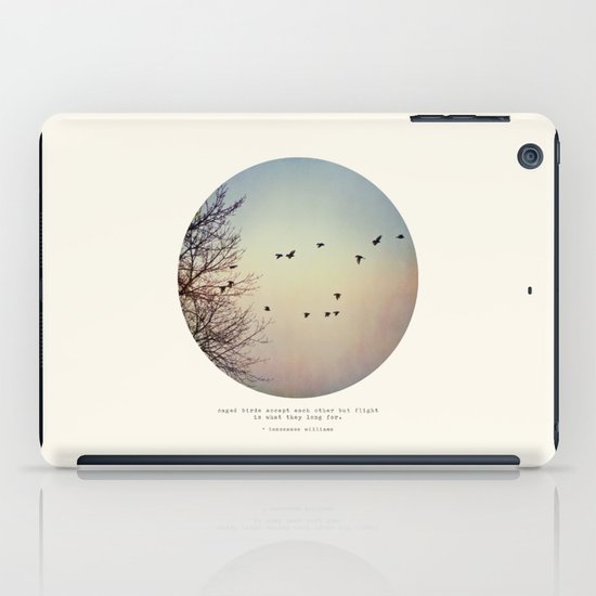Caged Birds iPad Case