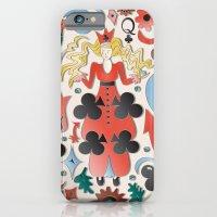Queen Of Clubs iPhone 6 Slim Case