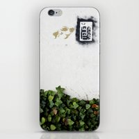 Television versus nature iPhone & iPod Skin