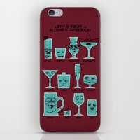 Field Guide To Alcoholic… iPhone & iPod Skin