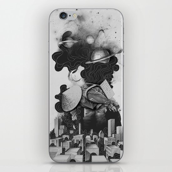 The Night Gatherer iPhone & iPod Skin