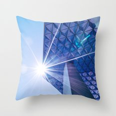 Ryerson Architecture with Flare Throw Pillow