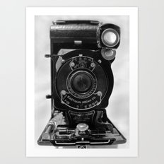 Vintage Kodak Camera Art Print