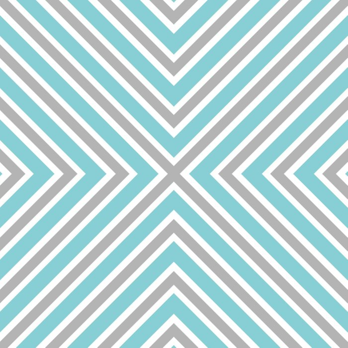 Blue Gray And White Stripes Duvet Cover By Kcavender