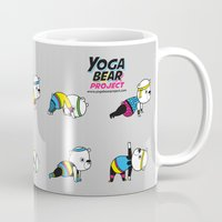 Yoga Bear - 80's Remix Mug