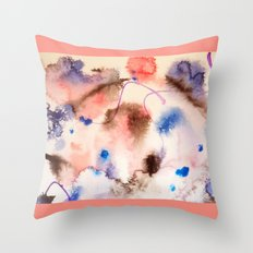 Colour Bursts-Part 2 Throw Pillow