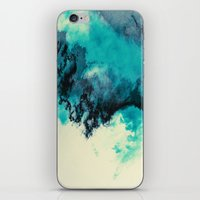 Painted Clouds V iPhone & iPod Skin