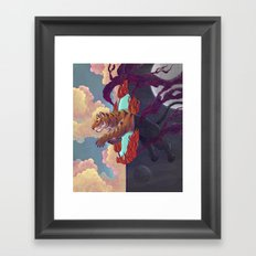 Ring of Fire Framed Art Print