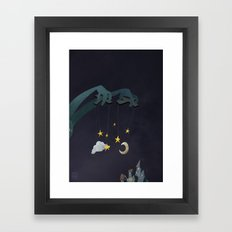 The Night Puppeteer Framed Art Print