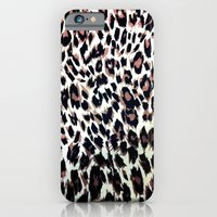 iPhone & iPod Case featuring Leopard by marianastutz