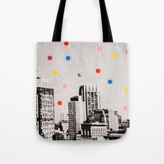 citydots Tote Bag