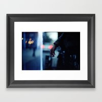 Smoking Leak Framed Art Print