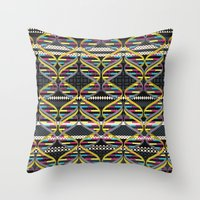 Pattern DNA Throw Pillow