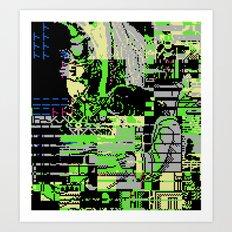The Unleashal Of Azazel Art Print