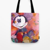 Mickey Mouse Blues Tote Bag